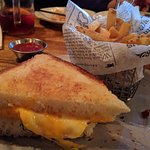 Texas toast grilled cheese