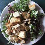 Sally's Simple Salad with Tofu Added