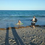 We were at this beach while a photo shoot was taking place. I hear this is a popular site for th