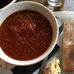 Soup of the Day (Tomato) and Rustic Bread