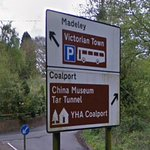 Sign to Victorian Town