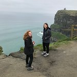 Daughters at the cliffs