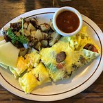 Mountain View omelette