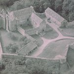 Photograph of Aydon Castle when it was a farm
