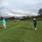 Such an idyllic setting for golf!