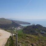 View towards Lulworth Cove