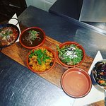 Some tapas from this evening yummy
