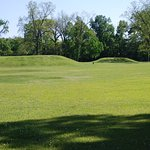 a view of a couple of the mounds