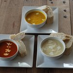 Our Soups in Nic's Restaurant