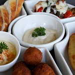 Vegetarian Tapas Set in Nic's Restaurant