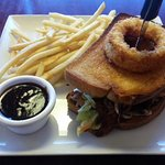 BBQ Pork Sandwich with Sweet Vinegar Cole Slaw