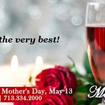 Join us on Mother's Day!