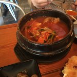 Spicy cod soup