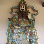 Celestial sculpture at Thien Mu Pagoda