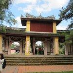 The triple gate of Thien Mu pagoda