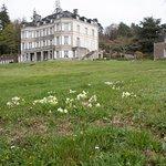 Chateau in einem weitläufigen Park