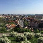 VIewpoint of Prague on the tour