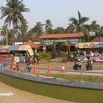 Restaurants and eateries on the beach.
