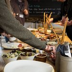 Grainstore buffet