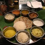 The delicious thali