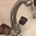 Korrodierter Wasserhahn