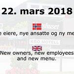 Vertshuset Sinclair har fått nye eiere, nye ansatte og ny meny fra 22. mars 2018.
