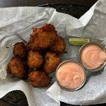 Best conch fritters in Belize