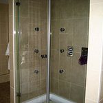 Double Shower in Rose Suite