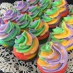 Pride cupcakes!