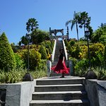 Ujung Garden, that's his idea