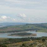 A ilha, vista do caminho para Morro do chapéu