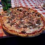 Sa s est de la pizza