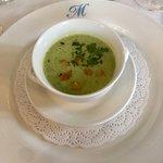 Pea and Garlic Soup