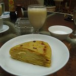 Cold Pancake Cake, breakfast option - way better than it sounds