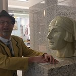 One of the many interesting art pieces pointed out by Tim on our Art Deco tour.