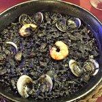 Black rice from Tapas/Paella menu