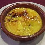 dessert from menu del dia