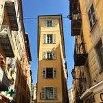 Architecture vieille ville de Nice