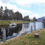 صورة فوتوغرافية لـ Loch Ness