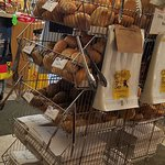 so many different types of breads and rolls to choose from