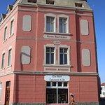The stunning Haus Hartmann, a landmark of the early diamond era architecture.