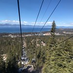 On the gondola up to Heavenly.