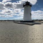 Edgartown Light on a cold windy day.