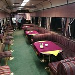 The lounge car