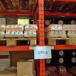 """""""Côté usine"""" Entrepôt... de pots de moutarde de 195 g"""