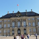 Amalienborg Castle - we saw a changing of the guard