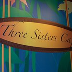 This is the sign outside of the cafe it is inside of the Seneca Resort and Casino Hotel.