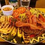Hamburger di Angus al piatto