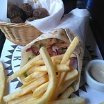 kebab e falafel