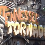 The Tennessee Tornado at Dollywood in Pigeon Forge, Tennessee!  FUN!!!